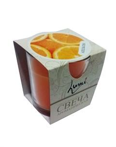 Свеча ароматическая Апельсин Lumi