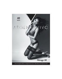 Чулки Mirage 40 Nero S Argentovivo