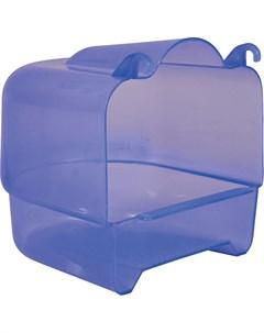 Купалка для птиц Пластиковая прозрачно голубая Trixie