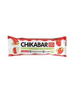 Батончик протеиновый Клубника со сливками 60 г Chikalab