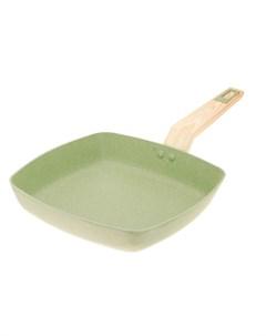 Сковорода гриль Olive stone 28х28 см Kitchen star