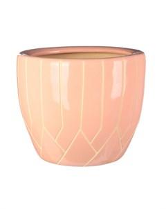 Горшок для цветов с поддоном Розовый d15 Viet thanh