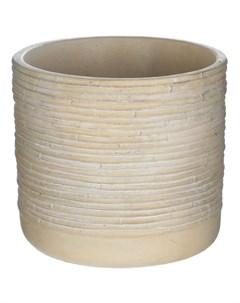Кашпо Myanmar коричневый бамбук 20 см Soendgen