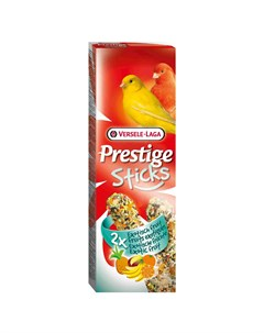Лакомство для птиц Prestige палочки для канареек с экзотическими фруктами 2х30 Versele-laga