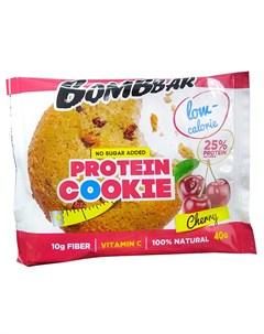 Печенье протеиновое Вишня 40 г Bombbar