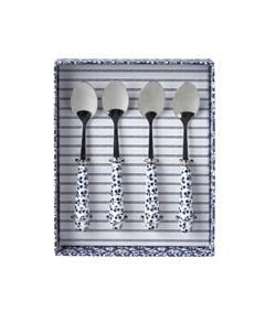 Набор чайных ложек Blueprint 4 шт Laura ashley