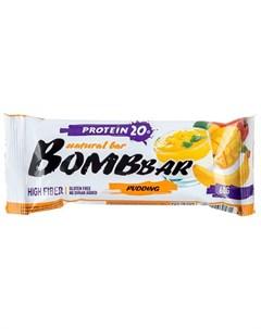 Батончик протеиновый Манго банан 60 г Bombbar