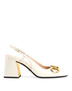 Туфли с пряжкой Horsebit Gucci