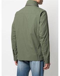 Куртка на молнии с капюшоном Fay