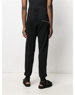 Прямые брюки с кулиской 11 by boris bidjan saberi