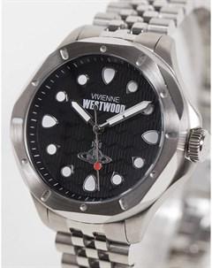 Серебристые часы Blackwall Vivienne westwood
