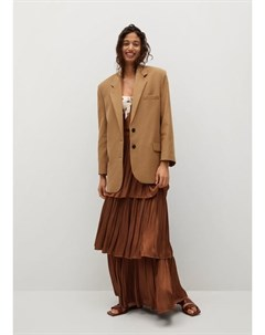 Струящаяся юбка с воланами Rocio Mango