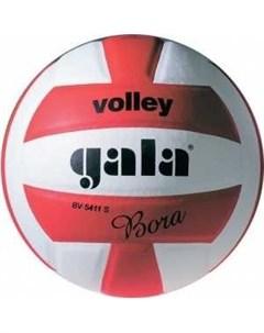 Мяч волейбольный Bora 10 арт BV5671S р 5 бело красный Gala