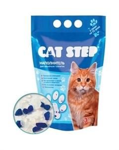 Наполнитель впитывающий силикагель для кошек 7 24кг 15 2л НК 018 546622 Cat step