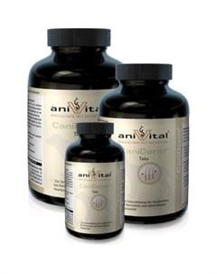 Пищевая добавка CaniDerm для улучшения состояния кожи и шерсти для собак 60таб 140г 523825 Anivital