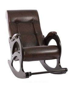 Кресло качалка МИ Модель 44 б л венге обивка Antik crocodile Мебель импэкс
