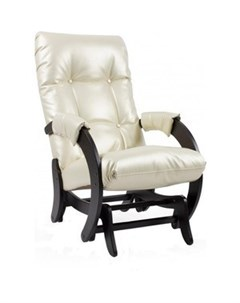 Кресло качалка глайдер МИ Модель 68 oregon perlamytr 106 Мебель импэкс