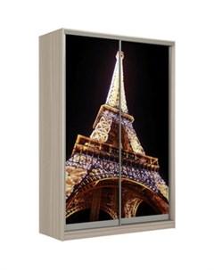 Шкаф Купе Рико 2д фотопечать Париж 0011 324 Престиж-купе