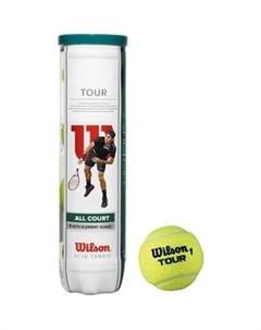 Мяч для большого тенниса All Court 4B WRT115700 4 мяча Wilson