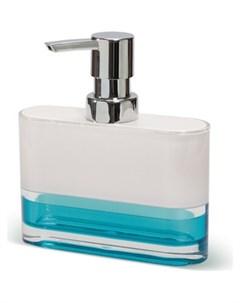 Дозатор для жидкого мыла TOPAZ BLUE многослойный ударопрочный акрил 12752 Tatkraft