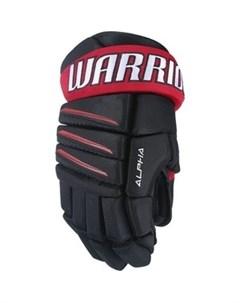 Перчатки хоккейные ALPHA QX3 QX3GSR7 NRD10 р 10 Warrior