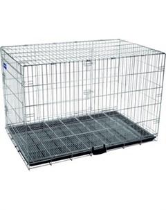 Клетка 6 металлическая с фальшдном 125х74х83см для собак Artero
