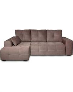 Угловой диван Неаполь левый Verona 74 744 dark brown арт80365649 Dиван