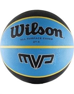 Мяч баскетбольный MVP Traditional р 5 сине черно желтый Wilson