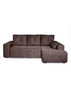 Угловой диван Неаполь правый Verona 84 grey brown арт 80358445 Dиван