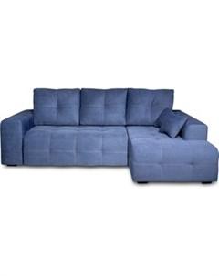 Угловой диван Неаполь правый Verona 27 jeans blue арт 80365657 Dиван