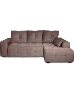 Угловой диван Неаполь правый Verona 74 744 dark brown арт 80365654 Dиван