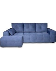 Угловой диван Неаполь левый Verona 27 jeans blue арт 80365652 Dиван