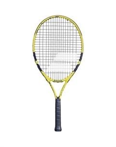 Ракетка для большого тенниса Nadal 25 Gr0 140249 детская 9 10 лет черно желтый Babolat