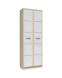 Шкаф для одежды НМ 013 02 02 фанк клен танзанский белый Silva