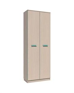 Шкаф для одежды НМ 013 02 02 рико дуб девонширский аква Silva