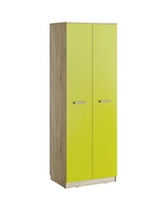 Шкаф для одежды НМ 013 02 03 акварель дуб сонома лайм Silva