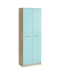 Шкаф для одежды НМ 013 02 02 акварель дуб сонома кенди Silva