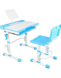 Парта трансформер со стулом T7 blue Капризун