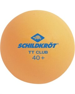 Мячики для настольного тенниса 2T CLUB 120 шт оранжевый Donic