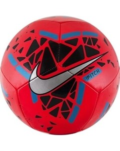 Мяч футбольный Pitch арт SC3807 644 р 5 Nike