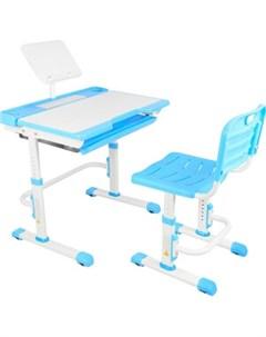 Парта трансформер со стулом A7 blue Капризун