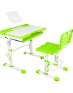 Парта трансформер со стулом T7 green Капризун
