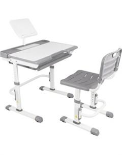 Парта трансформер со стулом A7 gray Капризун