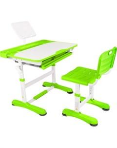 Парта трансформер со стулом R8 1 green Капризун