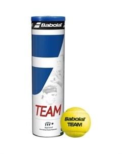 Мяч для большого тенниса Team 4B 502035 2017 Babolat