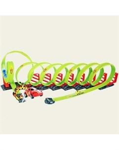 Детский пусковой трек Track Racing длина трека 650 см Tengleader