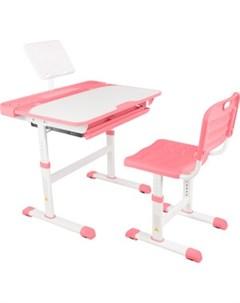 Парта трансформер со стулом Q8 pink Капризун