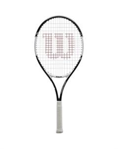 Ракетка для большого тенниса Roger Federer 25 Gr00 арт WR028310U для 9 10 лет алюм со струн черно бе Wilson