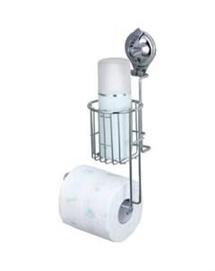 Держатель TRIUMF для туалетной бумаги и освежителя воздуха на присоске Fora
