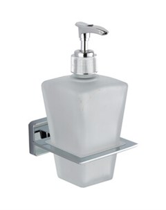 Дозатор для жидкого мыла STYLE стеклянный матовый Fora